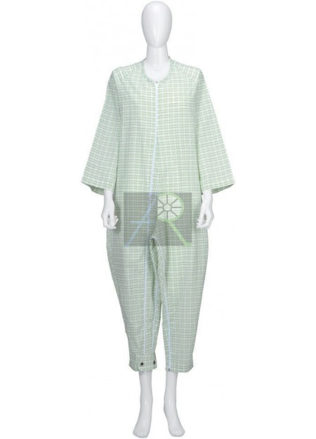 Pajama style patient uniform thick Type-3