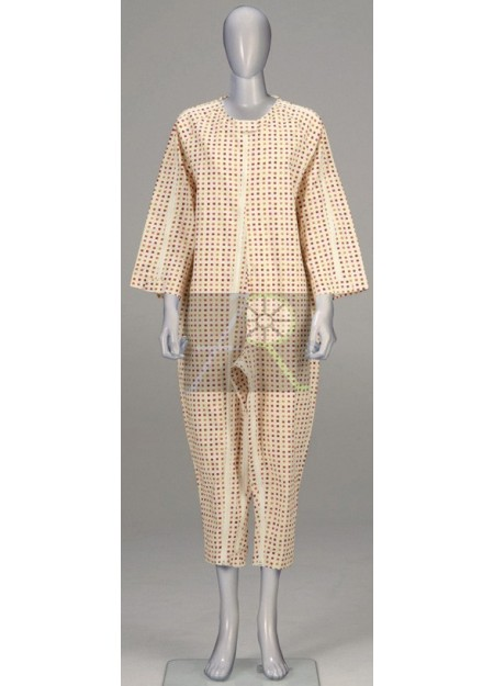Softy Pajama style patient uniform thick