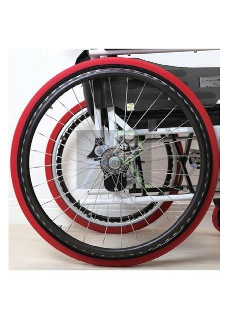 Wheelchair rear wheel cover