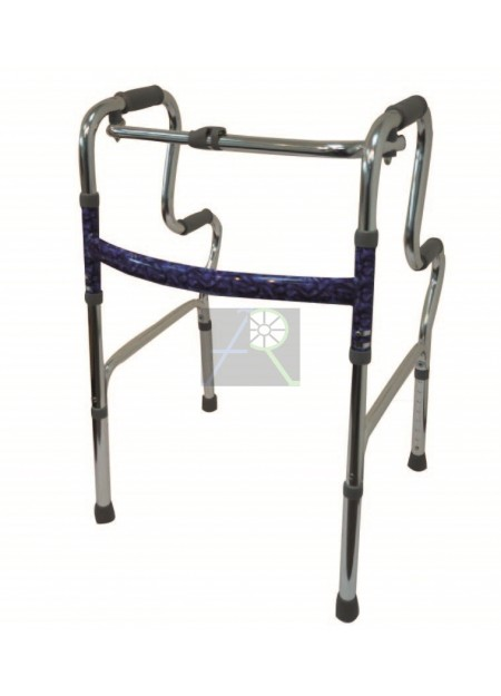 Multifunctional Double Foldable Walker