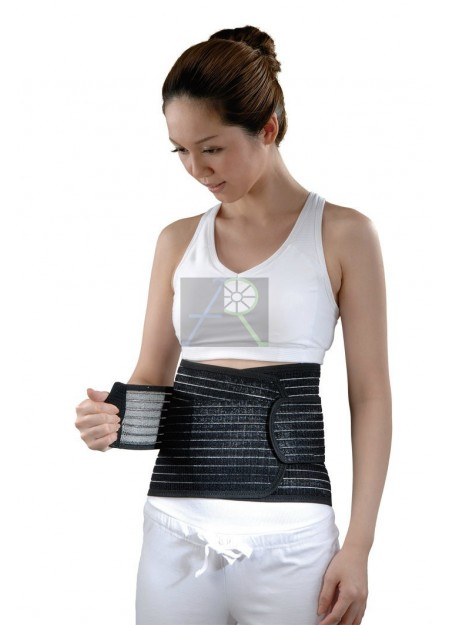 "9"" charcoal back pain protection belt"