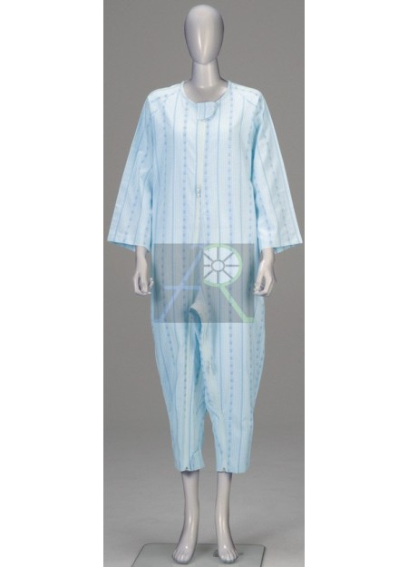 Softy Pajama style patient uniform(Standard, Double zipper)
