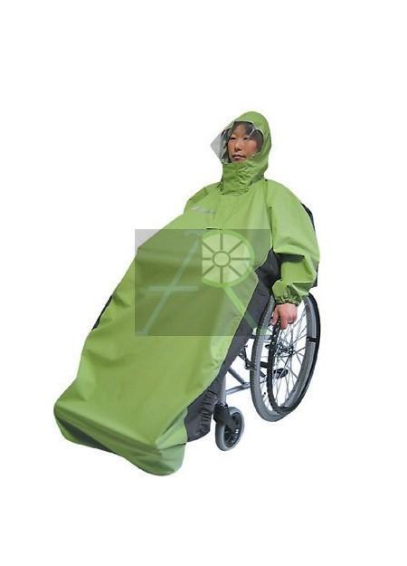 Free-active wheelchair raincoat