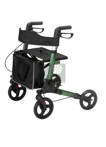 Aluminum Folding Aid 4 Wheels Shopping Cart