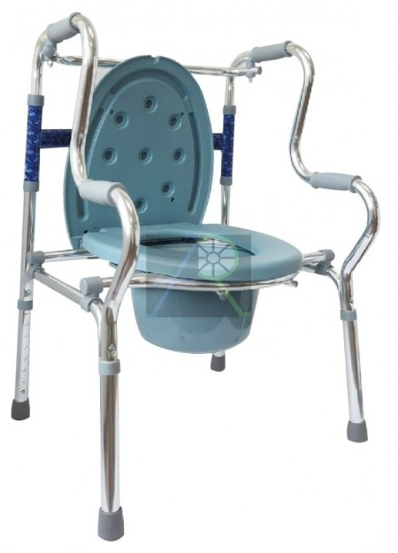 Multifunctional Double Foldable Walker (with commode)