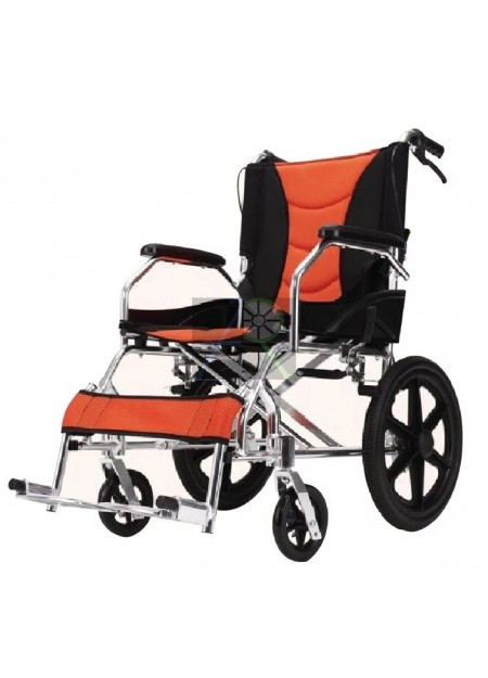 """Aluminum Wheelchair - 16"""""""