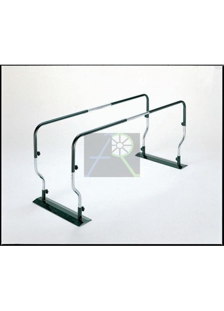 Training rehabilitation parallel rod
